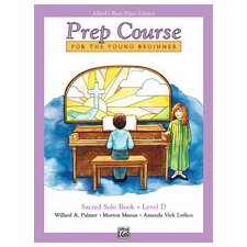 <strong>Alfred Publishing Company</strong> Basic Piano Prep Course: Sacred Solo Book D