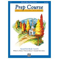 Basic Piano Prep Course: Sacred Solo Book E