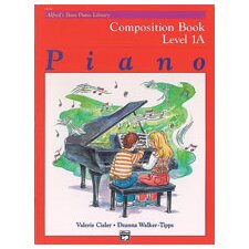 Basic Piano Course: Composition Book 1A