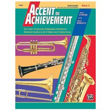 Accent on Achievement, Book 3: Drum Bass