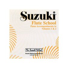 Suzuki Flute School CD, Volume 1 and 2 Piano Acc.