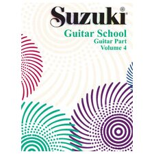 <strong>Alfred Publishing Company</strong> Suzuki Guitar School Guitar Part, Volume 4
