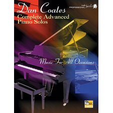 <strong>Alfred Publishing Company</strong> Dan Coates Complete Advanced Piano Solos Music for All Occasions