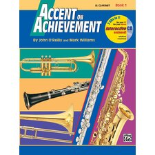 <strong>Alfred Publishing Company</strong> Accent on Achievement, Book 1 B-Flat Clarinet Book and CD