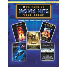 <strong>Alfred Publishing Company</strong> Popular Piano Library: Movie Hits, Level 4