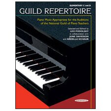 <strong>Alfred Publishing Company</strong> Guild Repertoire: Piano Music Appropriate for the Auditions of the National Guild of Piano Teachers, Elementary C and D