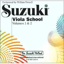 Suzuki Viola School CD, Volume 1 and 2