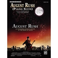<strong>Alfred Publishing Company</strong> Original Sheet Music Edition August Rush (Piano Suite from August Rush)