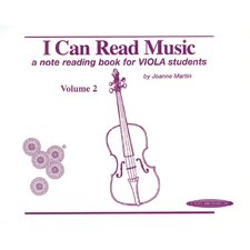 I Can Read Music, Volume 2 A note reading book for VIOLA students