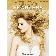 Taylor Swift - Fearless - For Piano, Vocal and Guitar Book