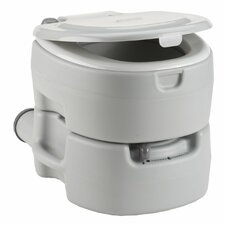 <strong>Coleman</strong> Large Portable Flush Round 1 Piece Toilet