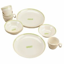 Melamine 12-Piece Dinnerware Set
