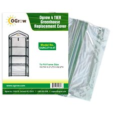 Ogrow 4 Tier Greenhouse Replacement Cover