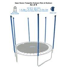 40 Piece Trampoline Enclosure Poles Kir
