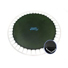 "Round Jumping Surface for 12' Trampoline with 80 V-Rings for 7"" Springs"