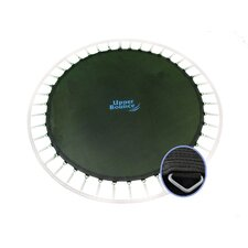 "Round Jumping Surface for 14' Trampoline for 88 V-Rings for 7"" Springs"