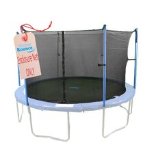 16'  Round Trampoline Net Using 6 Poles or 3 Arches