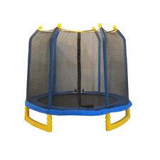 Classic 7' Trampoline & Enclosure Set in Blue