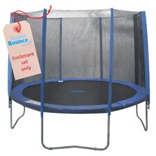 15' Round Trampoline Enclosure Set for 4/8 W Legs