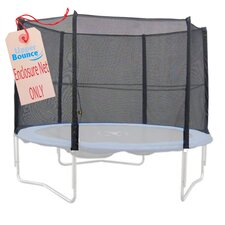 15' Round Trampoline Net using 8 Straight Poles