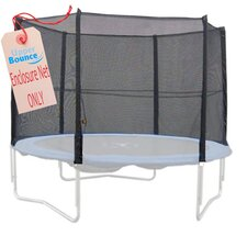 7.5' Round Trampoline Net using 6 Straight Poles