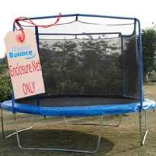 <strong>Upper Bounce</strong> 13' Round Trampoline Net Using 2 Arches