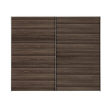 Trio Sliding Door Wardrobe in Dark Ash