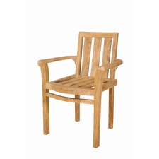 <strong>Anderson Teak</strong> Classic Stackable Dining Arm Chairs (Set of 4)