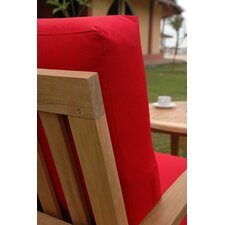 <strong>Anderson Teak</strong> Brianna Deep Seating Arm Chair with Cushion