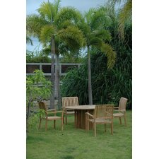 <strong>Anderson Teak</strong> Mission 5 Piece Dining Set