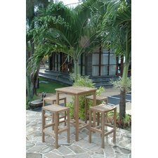 <strong>Anderson Teak</strong> Avalon 5 Piece Bar Height Dining Set