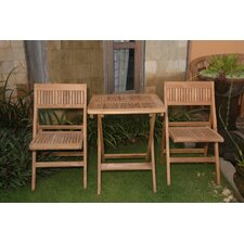 <strong>Anderson Teak</strong> Windsor 3 Piece Dining Set