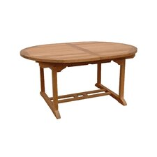 "<strong>Anderson Teak</strong> Bahama 87"" Oval Extension Dining Table"
