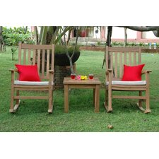 <strong>Anderson Teak</strong> Palm Beach 2 Piece Rocker Seating Group