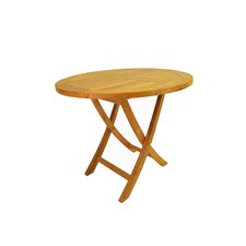 "<strong>Anderson Teak</strong> Bahama 35"" Round Bistro Folding Table"