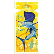 Guy Harvey Sailfish Sea Towel