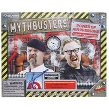 Scientific Explorer Mythbusters Power of Air Pressure