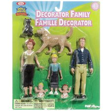 Decorator Family Figurine
