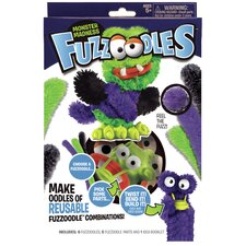 Fuzzoodles Monster Madness Plush Construction Kit