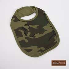 Bib in Green Camouflage