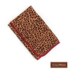 Baby Blanket in Leopard Print