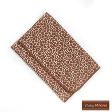 Baby Blanket in Giraffe Print