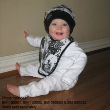 <strong>Baby Milano</strong> Unisex Baby Clothes Outfit in Black Toile