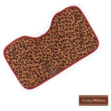 <strong>Baby Milano</strong> Baby Burp Cloth in Leopard Print