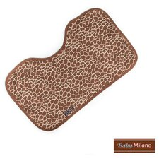 <strong>Baby Milano</strong> Baby Burp Cloth in Giraffe Print