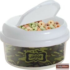 12 oz Camo Snack Container