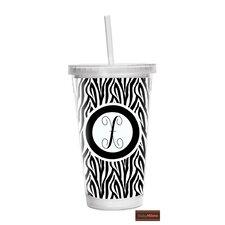 Zebra 16 oz Double Wall Insulated Tumbler