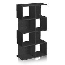 Way Basics Eco 4 Shelf Malibu Bookcase and Storage Shelf