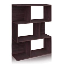 "zBoard Eco Madison 44.8"" Bookcase, Room Divider and Storage Shelf"