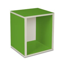 Way Basics Eco Stackable Storage Cube Plus and Cubby Organizer